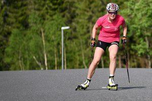Norwegian Team Maxim athlete Eline Grue in action